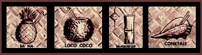 Ba Ma, Loco Coco, Bamboozer, Conktale